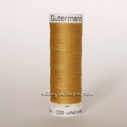 Fil Gütermann 200m moutarde