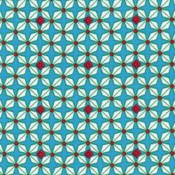Coton hélium turquoise