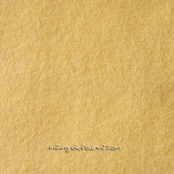 Jersey éponge jaune