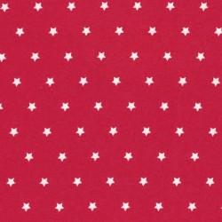 Enduit étoiles rouge