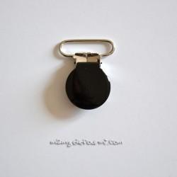 Attache clip bretelle noir
