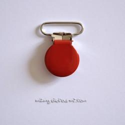 Attache clip bretelle rouge