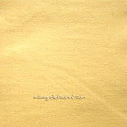 Jersey coton jaune
