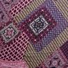 Satin foulard