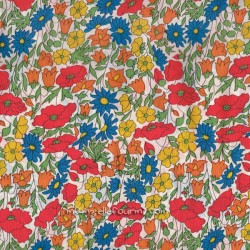 Liberty Poppy Daisy rouge-orange