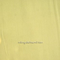 Popeline unie Frou-Frou jaune clair
