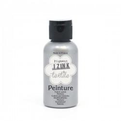 Peinture textile IZINC silver