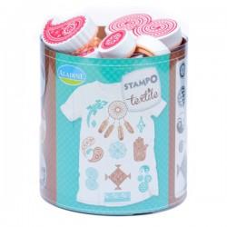 Stampo textile IZINC - Ethnic