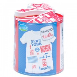 Stampo textile IZINC - London-NY