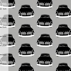 Jersey bio vintage cars gris