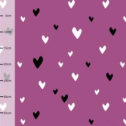 Jersey bio hearts violet