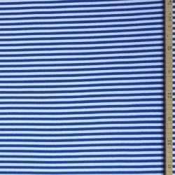 Bord-côte bio rayé blanc/bleu