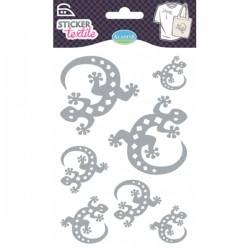 Sticker textile salamandres glitter
