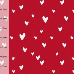 Jersey bio Hearts rouge