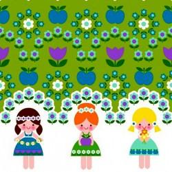 Jersey Finch flower girls