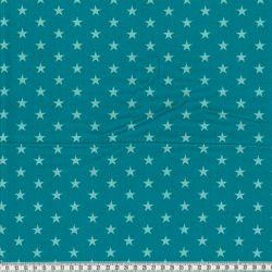 Velours étoiles bleu/pétrole