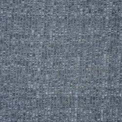 Jersey côtes plates chiné gris
