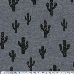 Sweat fin Cactus gris chiné