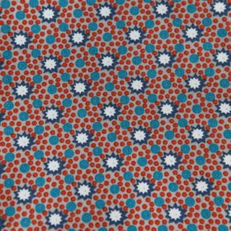 Coupon coton lichen gris
