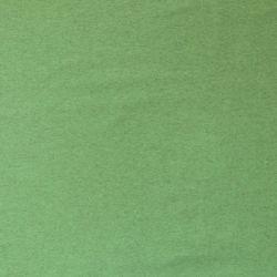 Jersey bio stretch chiné vert pomme