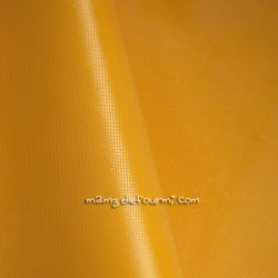 Toile nylon oxford jaune orangé