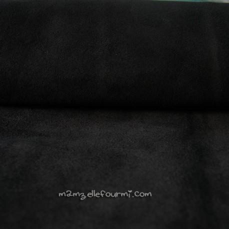 Croute de cuir noir