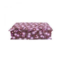 Boîte à couture coquelicot prune
