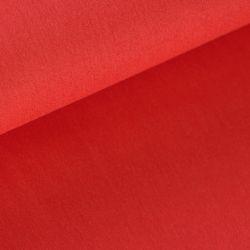 Coton uni rouge