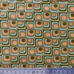Jersey retro squares mousse