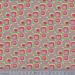 Jersey retro squares kiwi