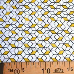 Coton cubes jaune