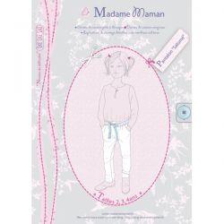 Pantalon Salomé 2-4 ans