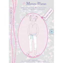 Pantalon Salomé 5-7 ans
