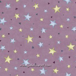 Rainbow dreams étoiles vieux rose