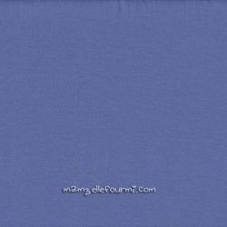 Jersey stretch bleuet