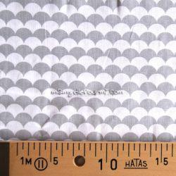 Coton écailles gris