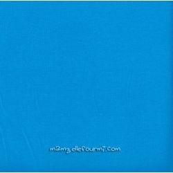 Jersey stretch turquoise foncé