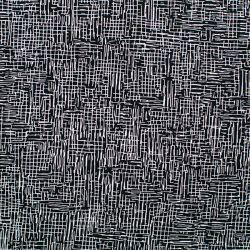 Viscose lines noir et blanc