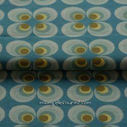 Jersey retro circles bleu