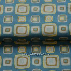 Jersey retro blocks bleu