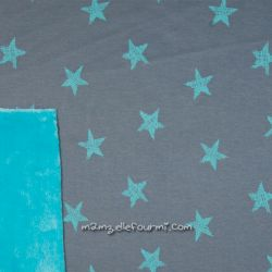 Sweat-minkee étoiles gris foncé