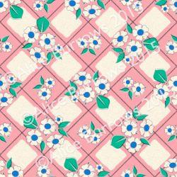 Jersey Finch pink flower Alice apple