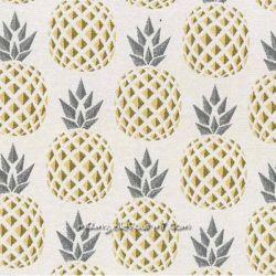 Jacquard ananas jaune