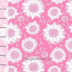 Coton bio lumme rose