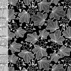 Jersey bio cloudberry noir/blanc