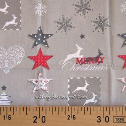 Coupon coton snowdy