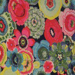 Jersey imprimé coranthe multicolore