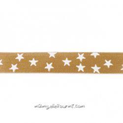 Élastique shorty stars beige