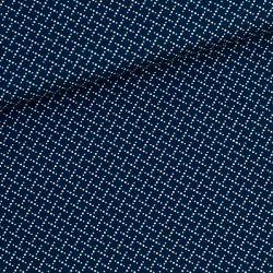 Coton marching marbles bleu foncé