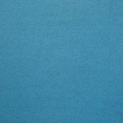 Bord-côte bio turquoise chiné